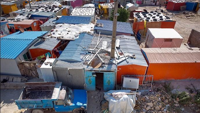 زلزلهزدگان محروم سرپلذهاب