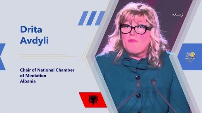دریتا آودولی رئیس اداره میانجیگری آلبانی