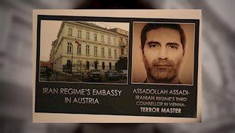 آغاز محاکمه اسدالله اسدی دیپلمات تروریست رژیم ایران