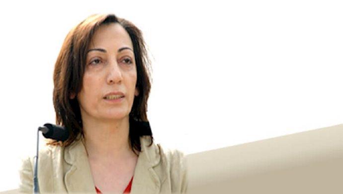 زینت میرهاشمی - سردبیر نبرد خلق و عضو کمیته مرکزی سازمان چریکهای فدایی خلق ایران