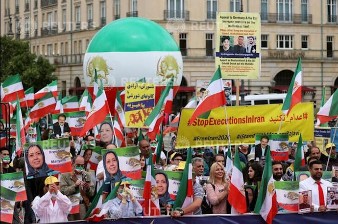 گردهمایی جهانی ایران آزاد - ۲۷تیرماه۱۳۹۹- آلمان - براندنبورگ - 1