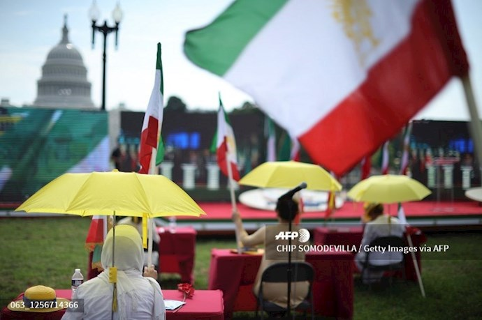 گردهمایی جهانی ایران آزاد - ۲۷تیرماه۱۳۹۹- واشنگتن - 3