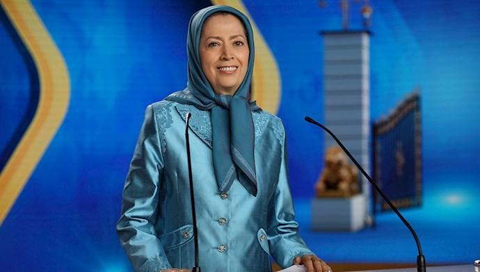 مریم رجوی: تعهد اول این است که ما مردم ایران، ما مقاومت ایران، این رژیم را سرنگون میکنیم و ایران را پس میگیریم.