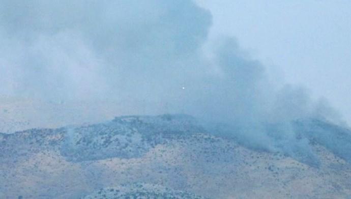 تبادل آتش میان اسراییل و حزبالله در طول مرز اسراییل و لبنان