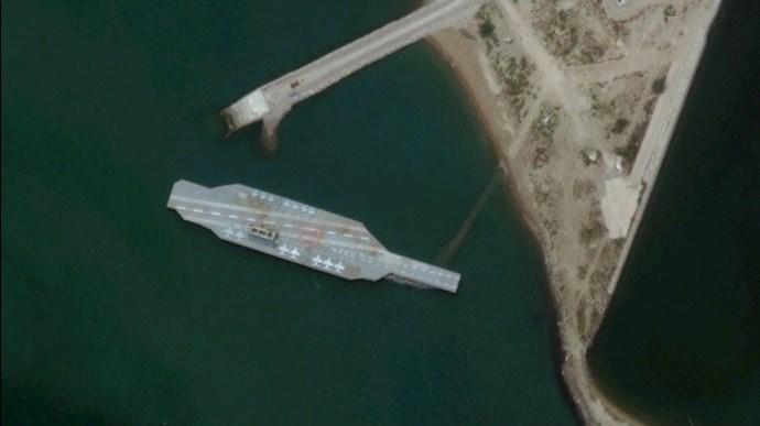 مانور نظامی رژیم  ایران در خلیج  فارس