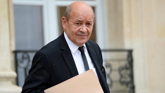 ژان ایو لو دریان وزیر خارجه فرانسه