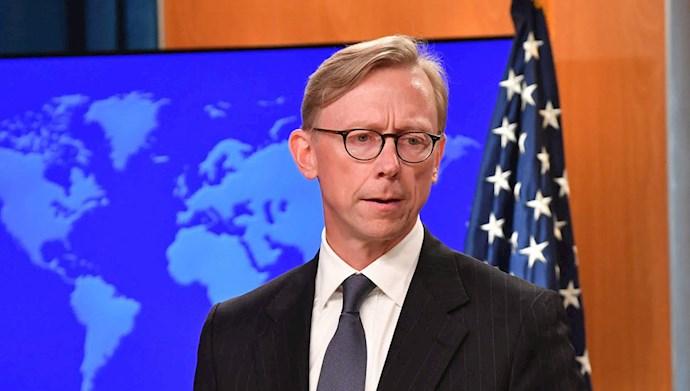 برایان هوک نماینده ویژه وزارت خارجه آمریکا برای ایران