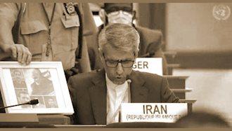 نماینده رژیم آخوندی در شورای حقوق بشر
