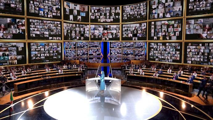 گردهمایی بزرگ و جهانی ایران آزاد - ۲۷تیر