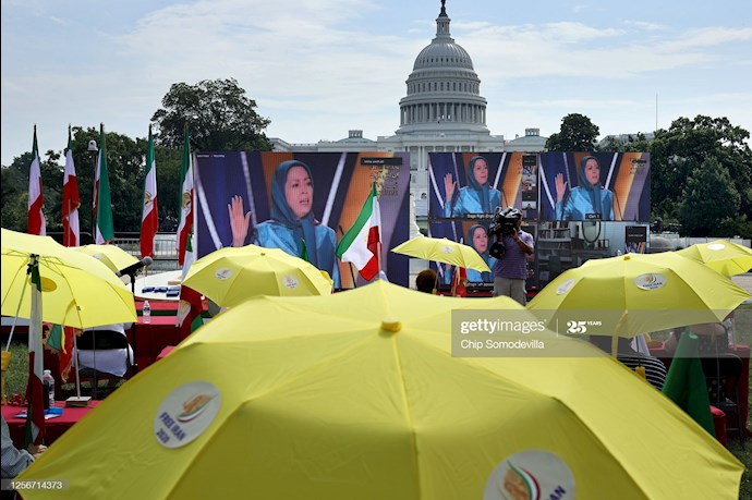 گردهمایی جهانی ایران آزاد - ۲۷تیرماه۱۳۹۹- آلمان - واشنگتن - 3
