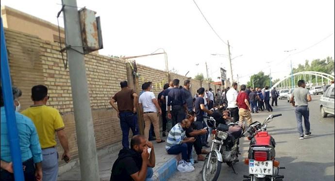 چهل و یکمین روز اعتصاب کارگران نیشکر هفتتپه - 1