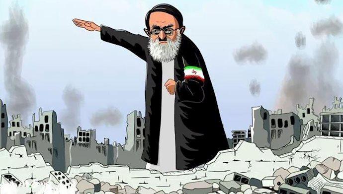 خامنهای در دار مکافات ...