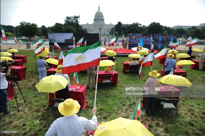 گردهمایی جهانی ایران آزاد - ۲۷تیرماه۱۳۹۹- آلمان - واشنگتن - 8
