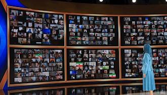 گردهمایی جهانی ایران آزاد با حضور رئیسجمهور برگزیده مقاومت مریم رجوی
