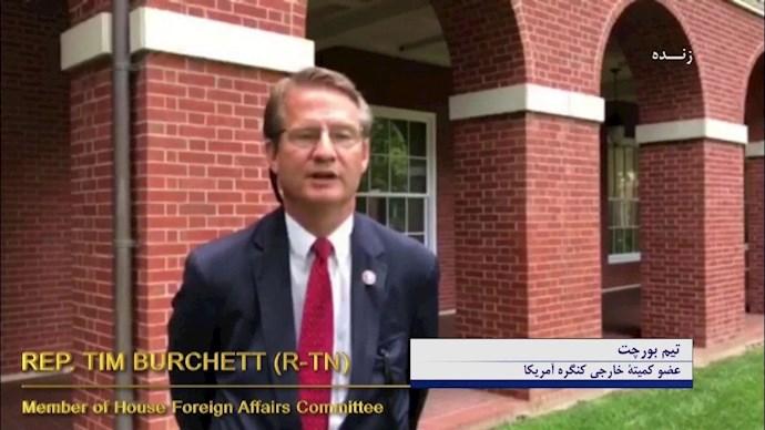 تیم بورچت عضو کمیته خارجی کنگره آمریکا