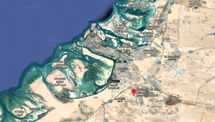 موشکهای رژیم ایران به سمت پایگاه هوایی آمریکا در امارات