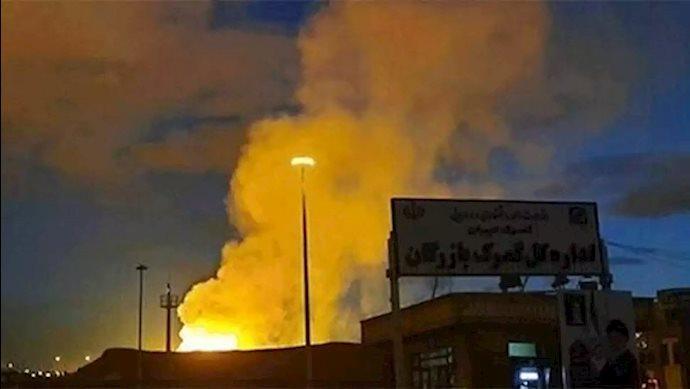 انفجار در باقرشهر تهران