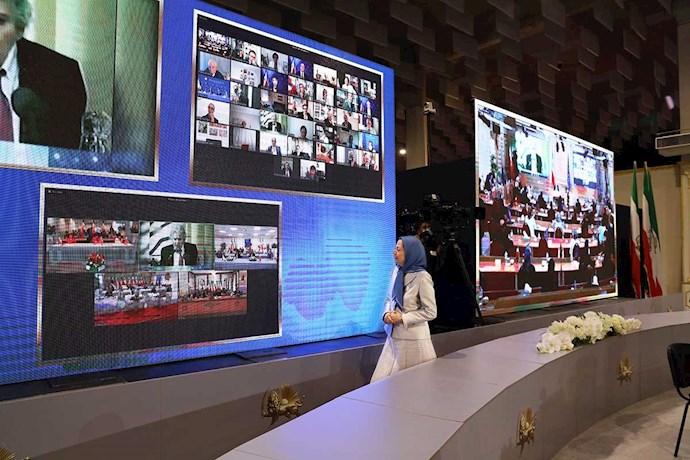 اجلاس سه روزه شورای ملی مقاومت ایران بهمناسبت آغاز چهلمین سال تأسیس شورا (۲ تا ۵مرداد۹۹)