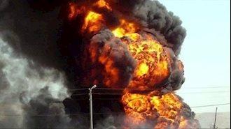 انفجار در شرکت تولیدکننده میعانات گازی فریمان در خراسان رضوی