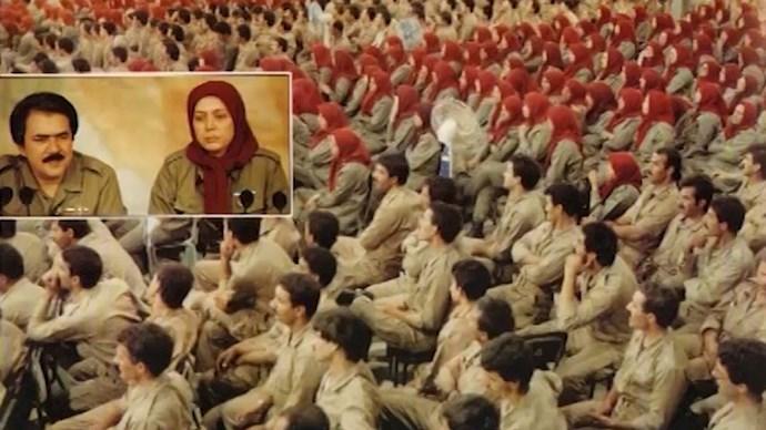 نخستین سالگرد فروغ جاویدان در ارتش آزادیبخش- مسعود رجوی