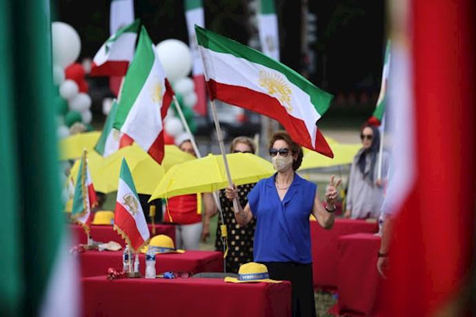 گردهمایی جهانی ایران آزاد - ۲۷تیرماه۱۳۹۹- آلمان - واشنگتن - 1