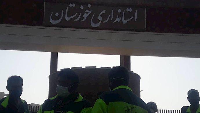 تجمع کارگران شهرداری