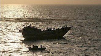 توقیف کشتی حامل سلاح در سواحل یمن - آرشیو