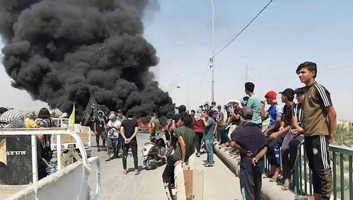 تظاهرات مردم عراق در ذیقار