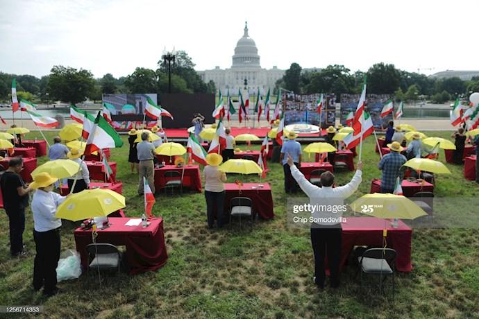 گردهمایی جهانی ایران آزاد - ۲۷تیرماه۱۳۹۹- آلمان - واشنگتن - 2