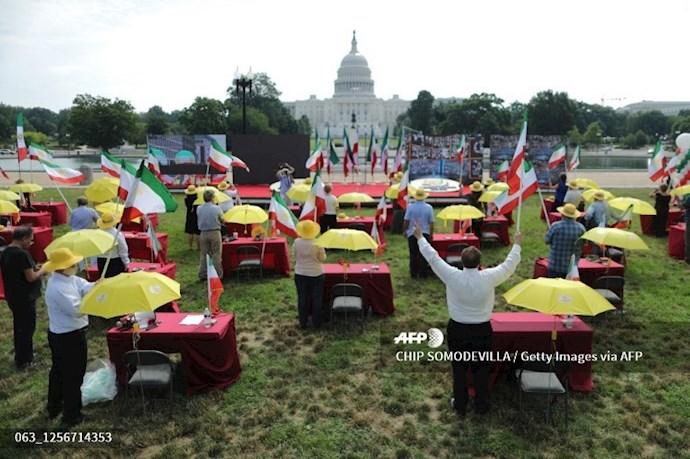 گردهمایی جهانی ایران آزاد - ۲۷تیرماه۱۳۹۹- واشنگتن - 13