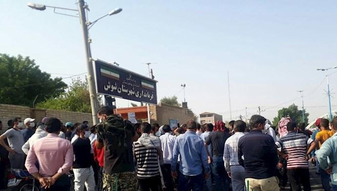 اعتصاب کارگران هفت تپه در چهل وششمین روز