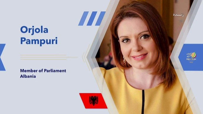اوریولا پامپوری نماینده پارلمان آلبانی