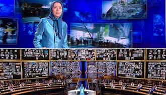 سخنرانی مریم رجوی در  گردهمایی جهانی ایران آزاد