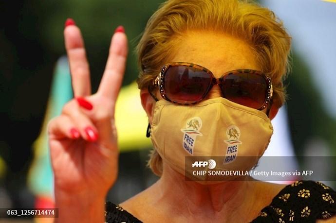 گردهمایی جهانی ایران آزاد - ۲۷تیرماه۱۳۹۹- واشنگتن - 8