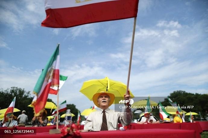 گردهمایی جهانی ایران آزاد - ۲۷تیرماه۱۳۹۹- واشنگتن - 12
