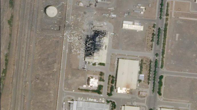 انفجار در سایت اتمی نطنز