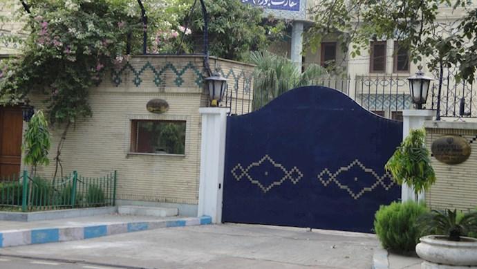 سفارت رژیم - عکس از آرشیو