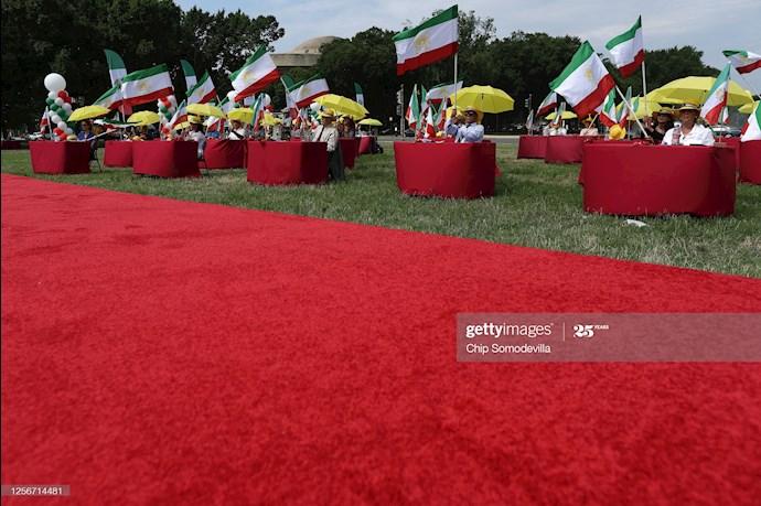 گردهمایی جهانی ایران آزاد - ۲۷تیرماه۱۳۹۹- آلمان - واشنگتن - 5