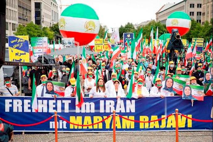 گردهمایی جهانی ایران آزاد - ۲۷تیرماه۱۳۹۹- آلمان - برلین - 3