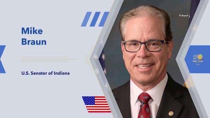 مایک براون ـ عضو سنای آمریکا