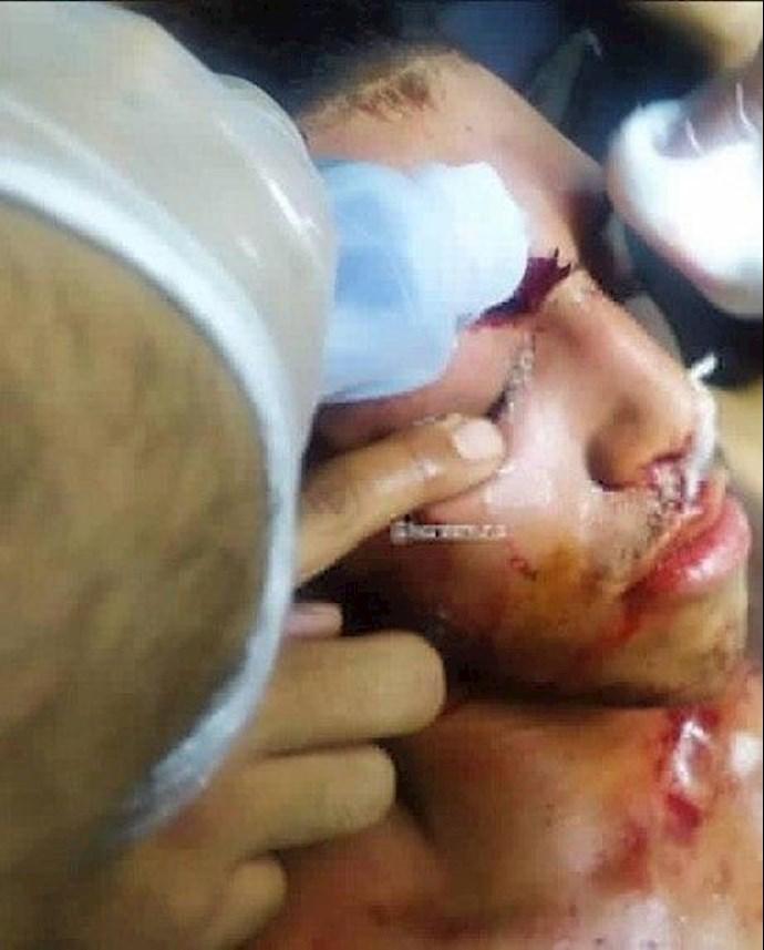 درگیری در عراق،کشته و زخمی شدن تظاهرات کنندگان و آتش زدن چادرهای انقلابیون در میدان تحریر بغداد - 5