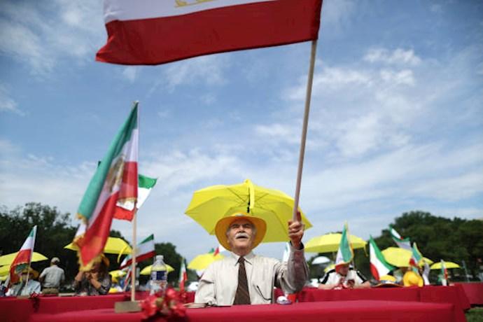 گردهمایی جهانی ایران آزاد - ۲۷تیرماه۱۳۹۹- آلمان - واشنگتن - 7