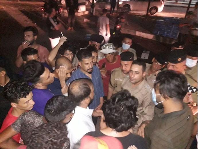 درگیری در عراق،کشته و زخمی شدن تظاهرات کنندگان و آتش زدن چادرهای انقلابیون در میدان تحریر بغداد - 8
