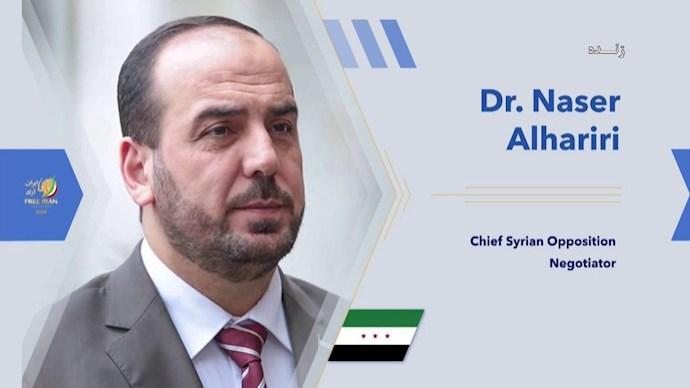 نصر حریری ـ رئیس ائتلاف ملی سوریه