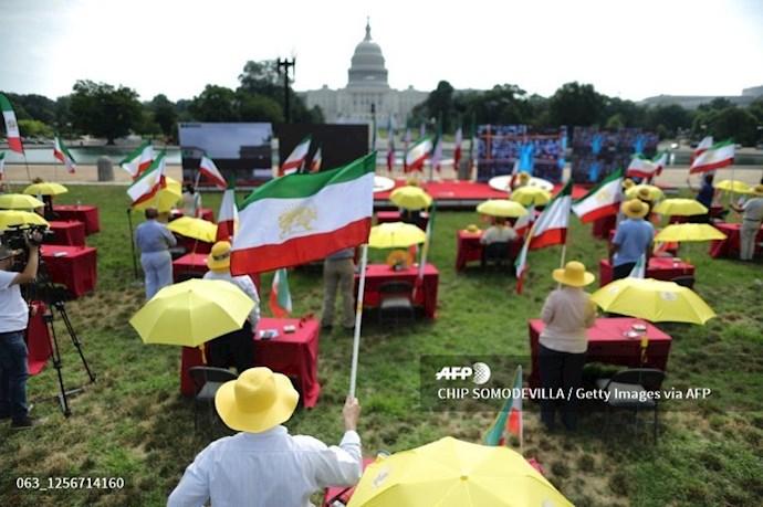 گردهمایی جهانی ایران آزاد - ۲۷تیرماه۱۳۹۹- واشنگتن - 0