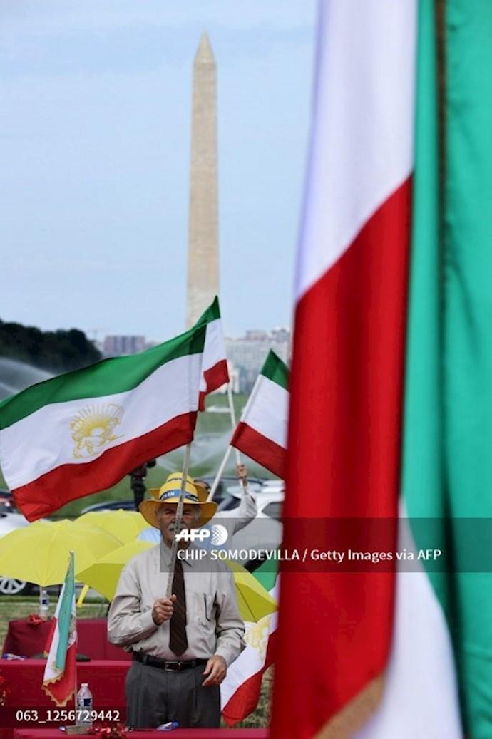گردهمایی جهانی ایران آزاد - ۲۷تیرماه۱۳۹۹- واشنگتن - 11