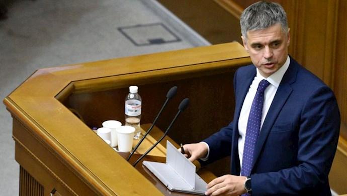 دمیترو کولبا Dmytro Kuleba وزیر خارجه اوکراین