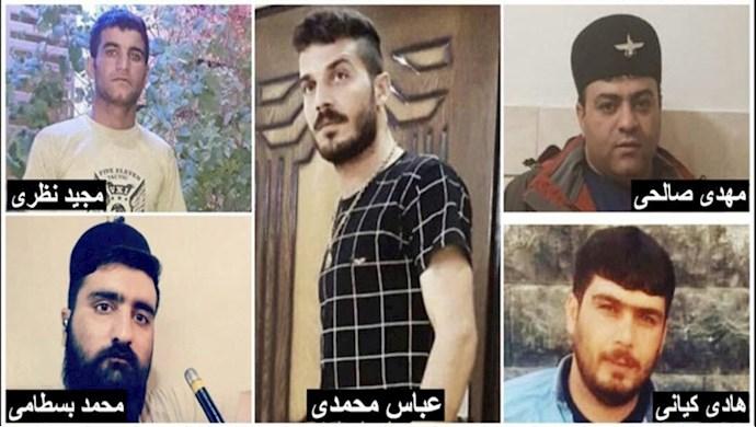 حکم اعدام پنج تن از معترضان دیماه ۹۶