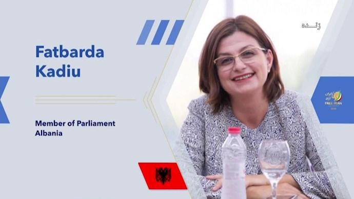 فاتباردا کادیو نماینده پارلمان آلبانی