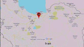 زمین لرزه در فیروزکوه تهران